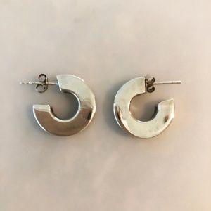 Jewelry - Sterling Silver Open Hoop Earrings
